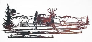Laser Creek Whitetail Scene