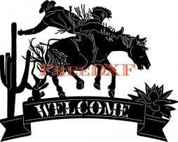 Cowboy-Welcome-Sign